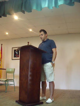 Ivan Tirado, jura su cargo