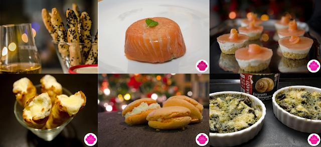 Des idées pour vos repas de fêtes....