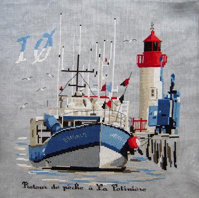 Au port de la Cotinière - Isabelle Vautier