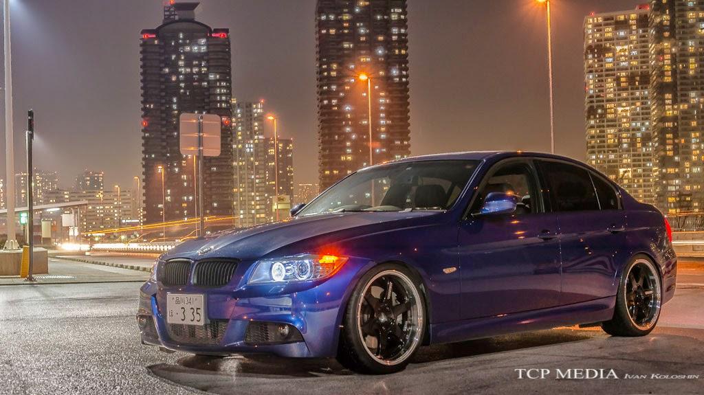 BMW 335i Rays Volk Tatsumi