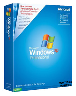 Free Download Windows XP Professional SP3 (x86) Integrated May 2013