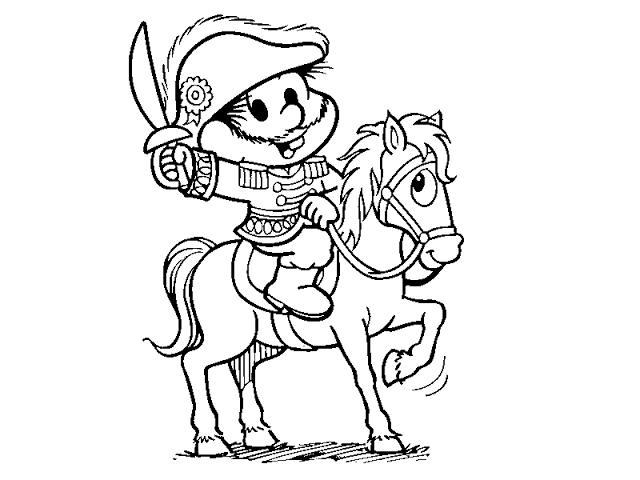 Desenho Dia da Pátria para colorir Chico Bento Turma da Mônica