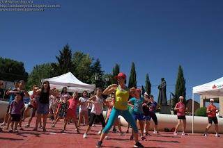 Master class ZUMBA en Segovia para Cruz Roja
