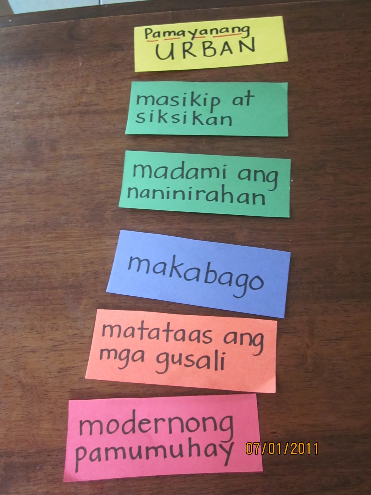Custom term paper in tagalog