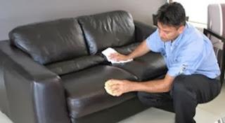 Trucos sencillos limpiar un sofá o sillón de cuero