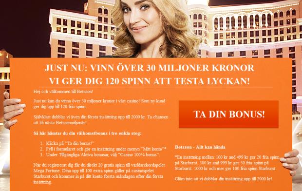 BestCasino - 20 free spin gratis direkt!