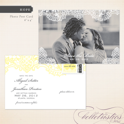 vintage romantic lace printable diy wedding photo save the date postcard designs