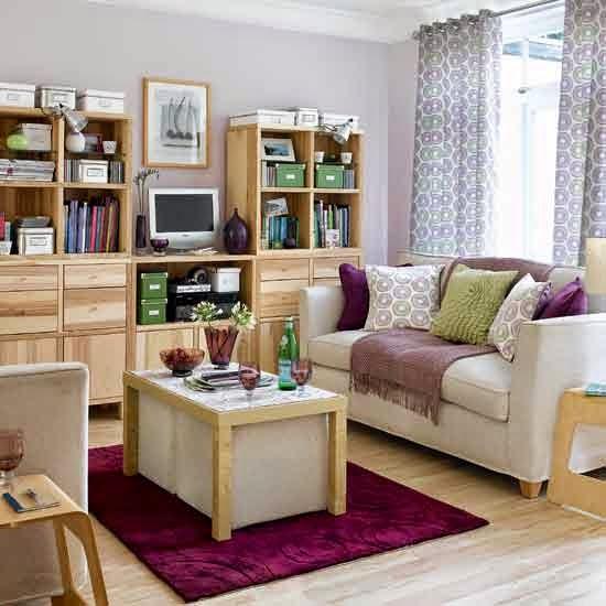 Desain plain dari sebuah ruang tamu