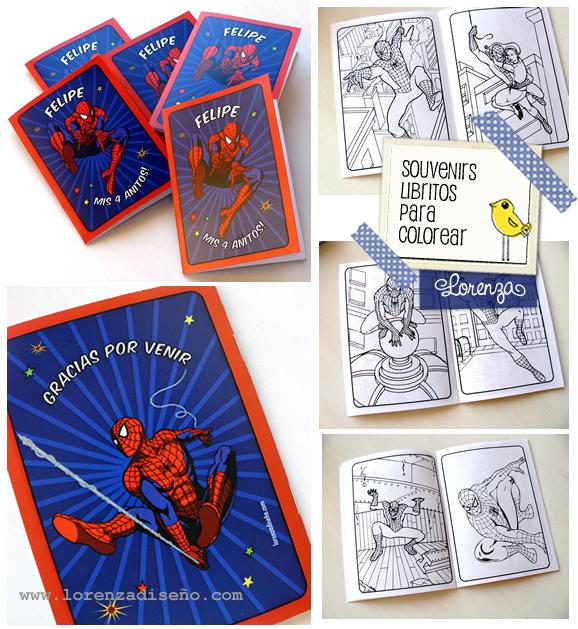 Asombroso Spiderman Para Colorear Libro Adorno - Páginas Para ...