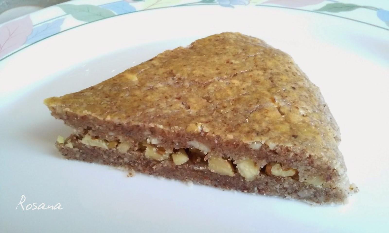 Coquetes d'anous - torta de nueces