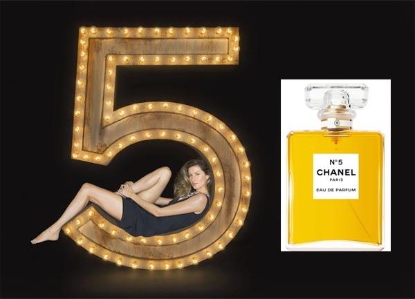 perfume Chanel Nº 5 Gisele Bündchen campanha