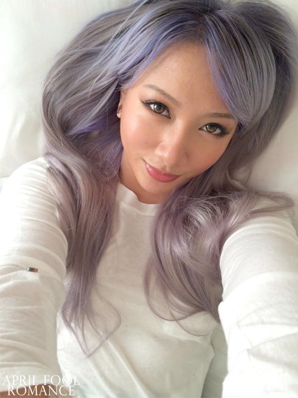 april fool romance silver lilac hair birthday presents