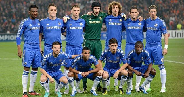 Tim Chelsea 2013 Formasi