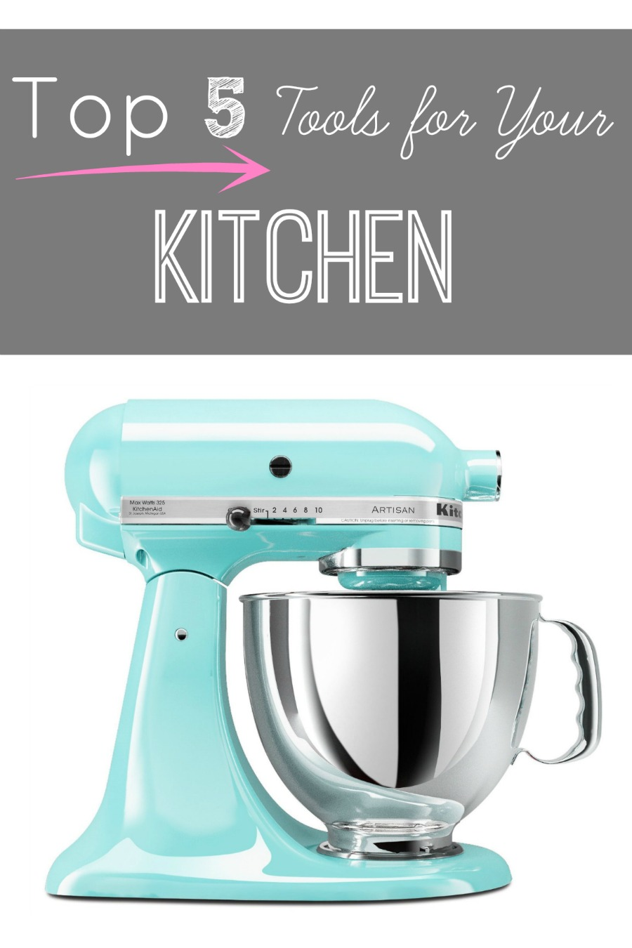 Top Five {Large} Kitchen Must Haves