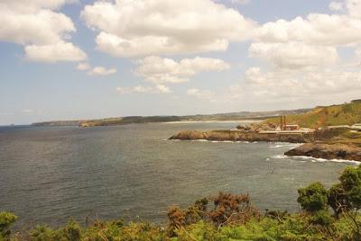 Castrillón, vista del litoral oriental