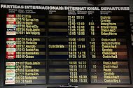 Seu voo está no horário?