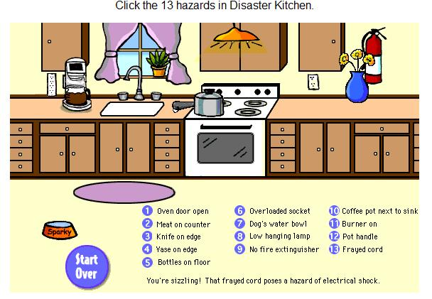 Worksheet Kitchen Safety Worksheets teaching students with learning difficulties dangers in the kitchen kitchen