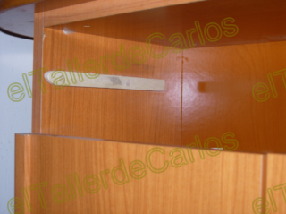 Eltallerdecarlos reparar caj n gu a de cajon rota cajon - Pasta para reparar madera ...
