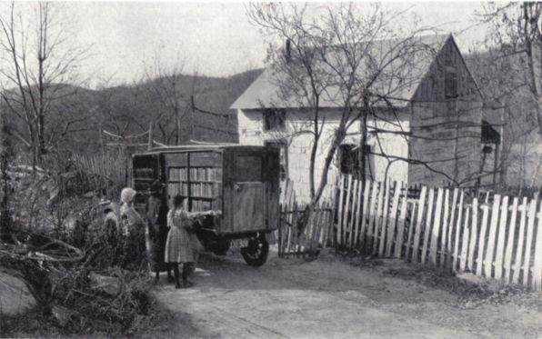 1922 Bookmobile