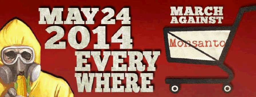 Global March against Monsanto 24. Mai 2014