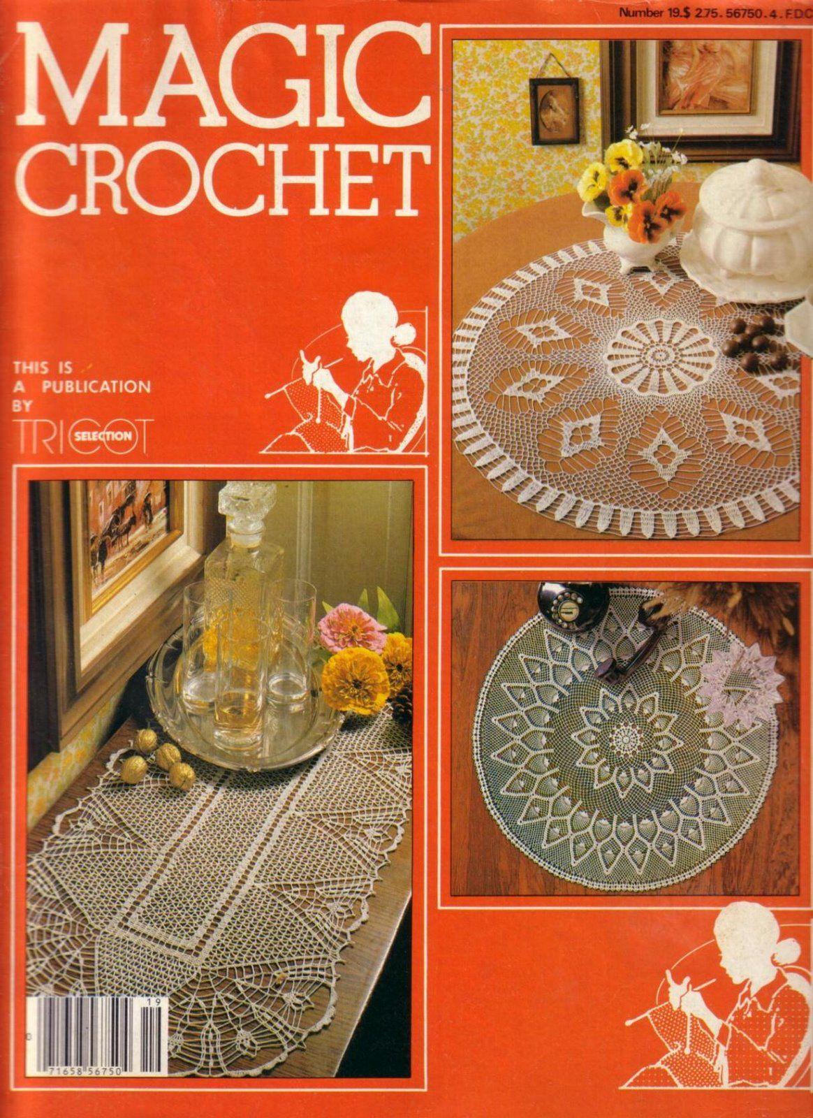 Magic Crochet No. 19 ~ Free Crochet Patterns