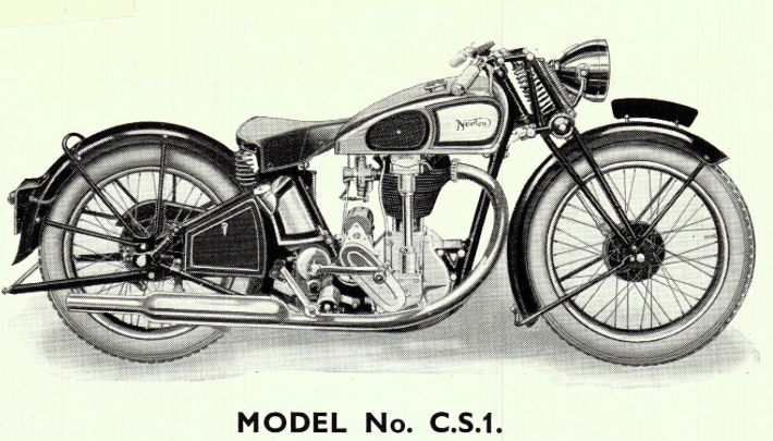 WANTED: '35-'39 model CS1 NORTON