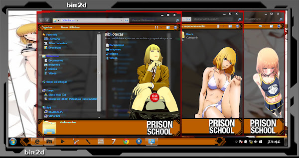 Hana / Prison School ( WINDOWS 7 ) 4
