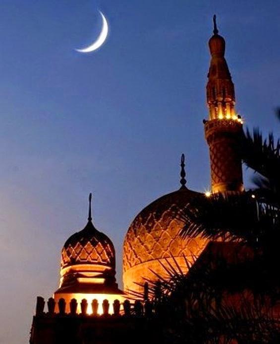 Gambar Keindahan Malam Lailatul Qadar Sinar Ilahi Seribu Bulan DP BBM