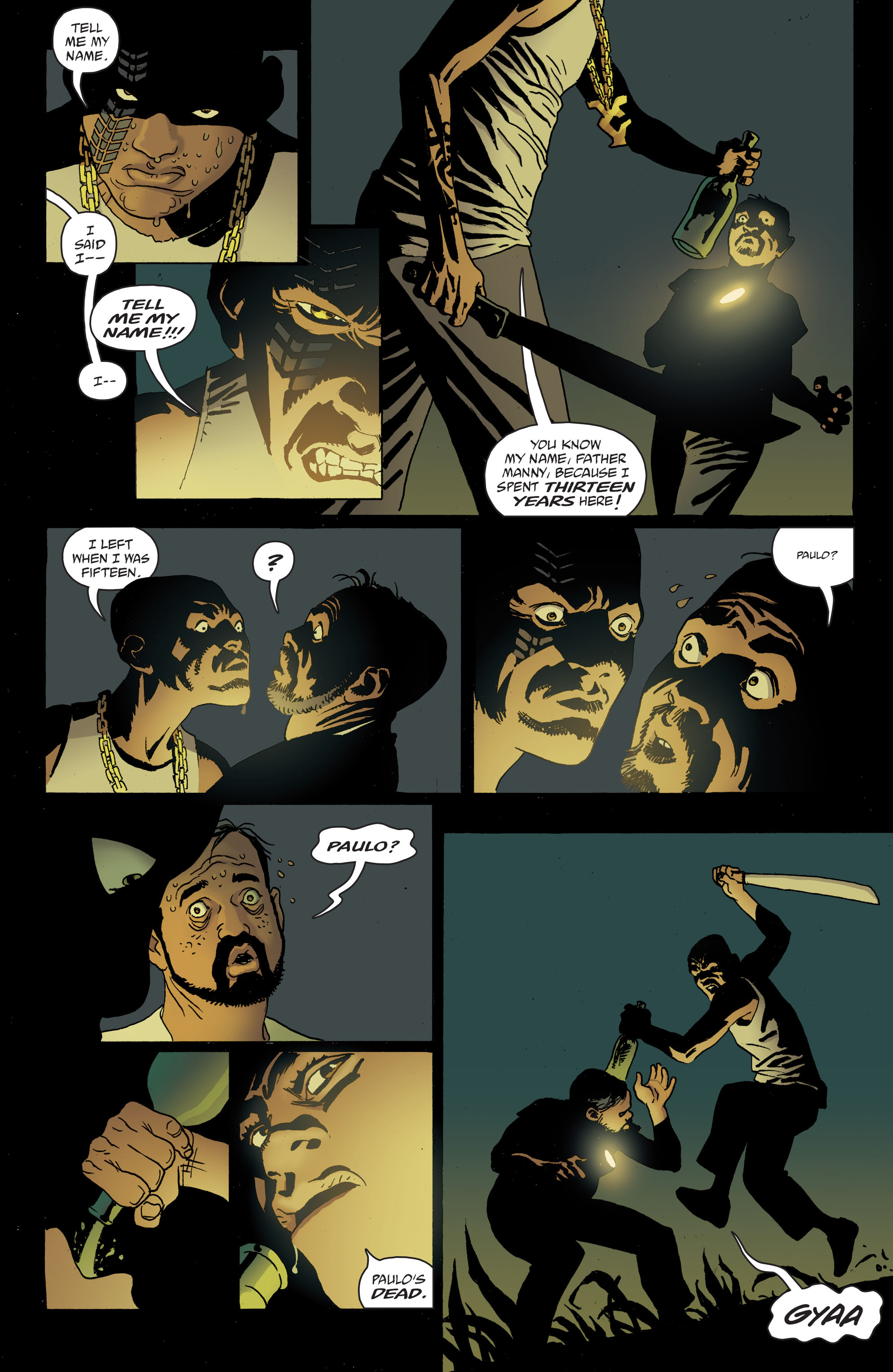 100 Bullets: Brother Lono Full Page 74