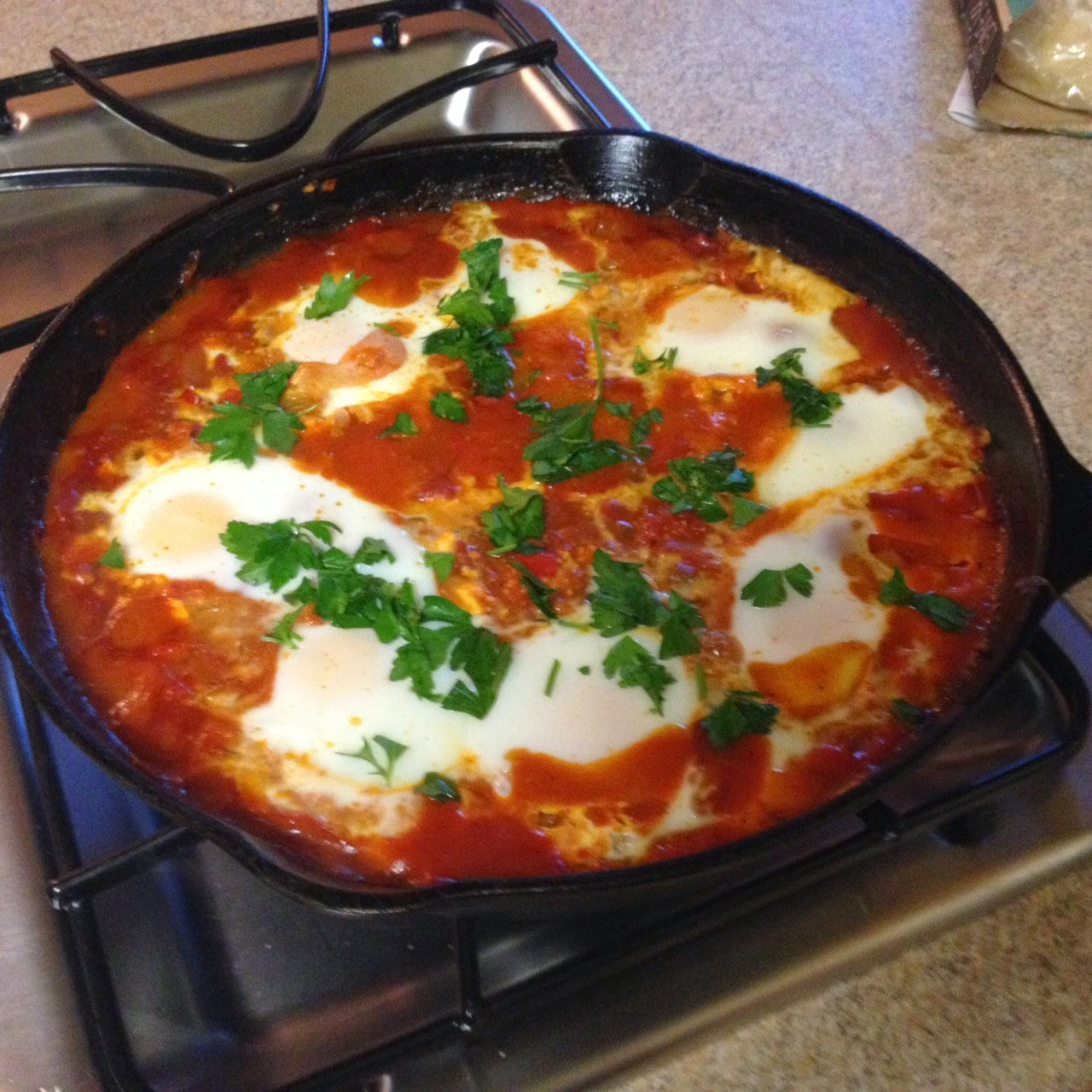 Shakshuka : It's a Dish Not a Dance