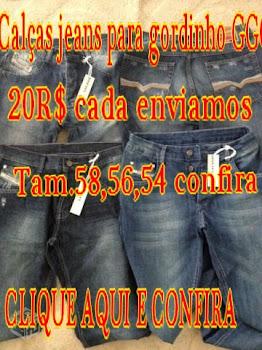 CALÇAS JEANS 20 R$ GGG