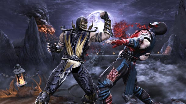 mortal kombat 9 scorpion wallpaper. mortal kombat 9 scorpion