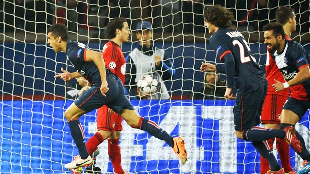 UEFA Champions League 2013-14: PSG vs. Bayer Leverkusen | Ximinia