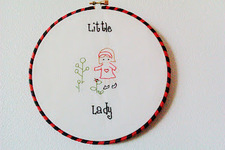 """Little Lady"" Embroidery"