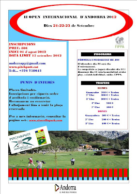 Open Internacional Andorra 2012 Pitch & Putt
