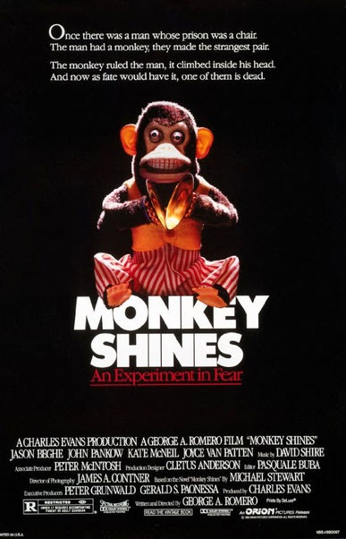 'Monkey Shines' movie poster