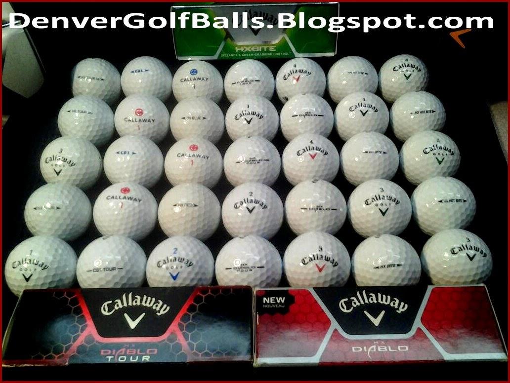 All Golf Balls Used Golf Balls Denver