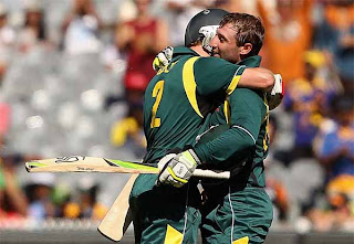 Australia wins 1st ODI by 107 runs