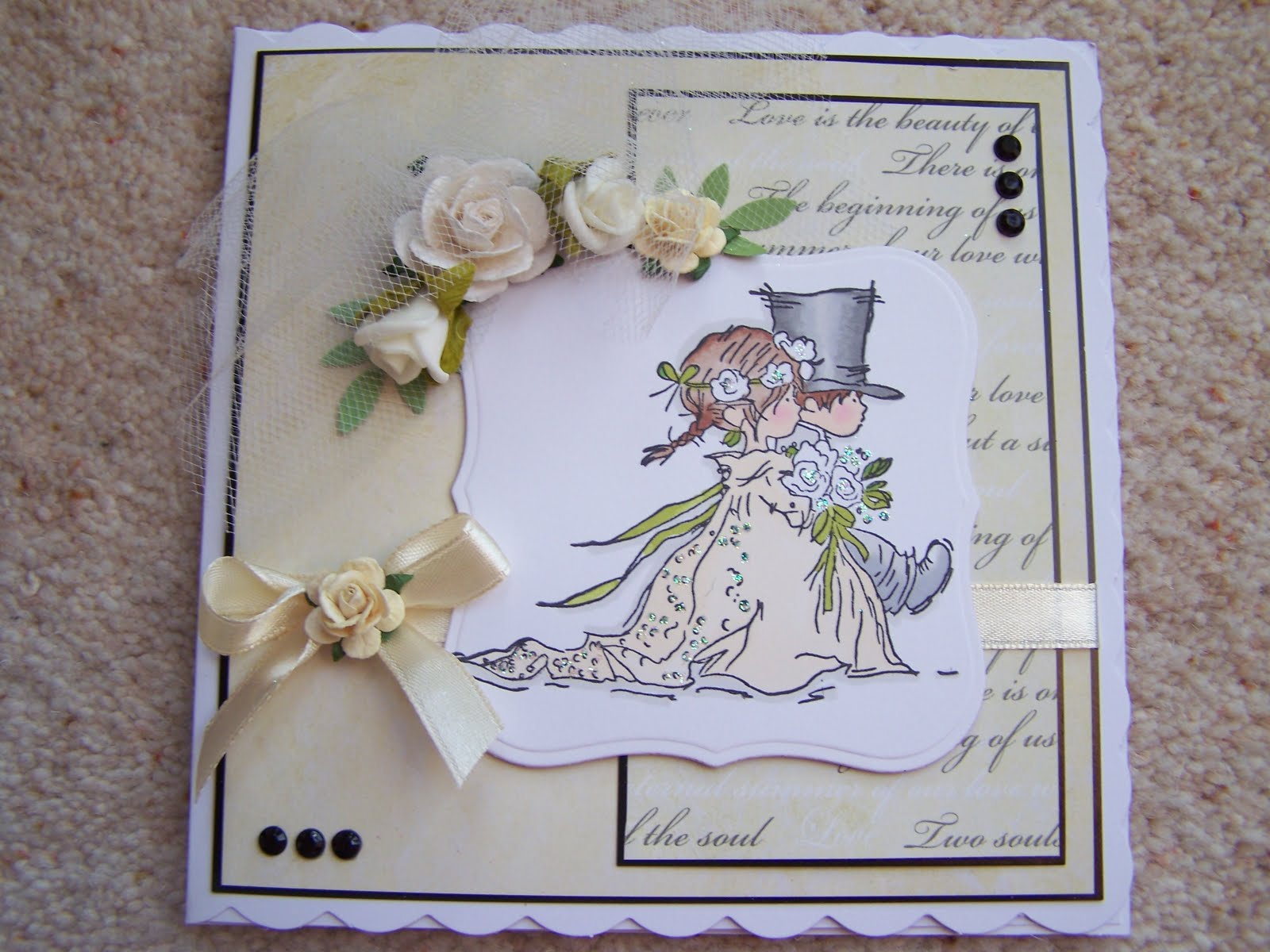 Lili of the Valley\'s Blog: Wedding Couple ...Card Ideas