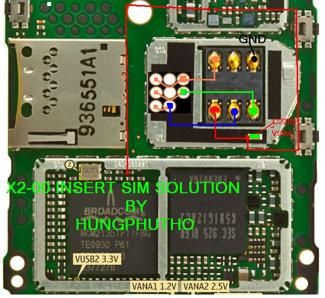 Nokia C2 03_c2 06_c2 08 Insert Sim Card Jumper Solution | Apps ...