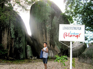 Tanjung Tinggi Pantai Laskar pelang, Belitung
