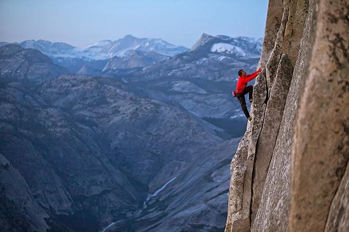 Spiderman gunung, daki gunung tanpa tali