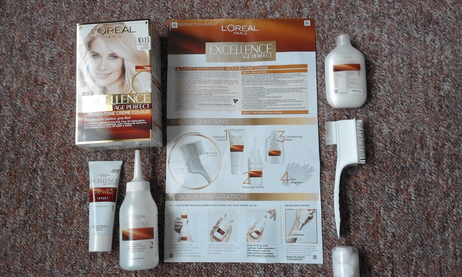News Muse And Reviews Bzzagent Loreal Excellence Age Perfect