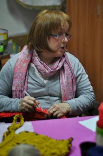 Albalate de Cinca: Crochet XXL. Talleres Viajeros