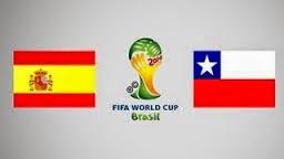 España 0 - 2 Chile. Grupo B. España dice adiós al Mundial.