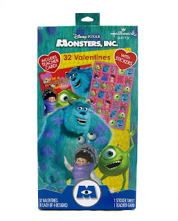 monsters inc valentines