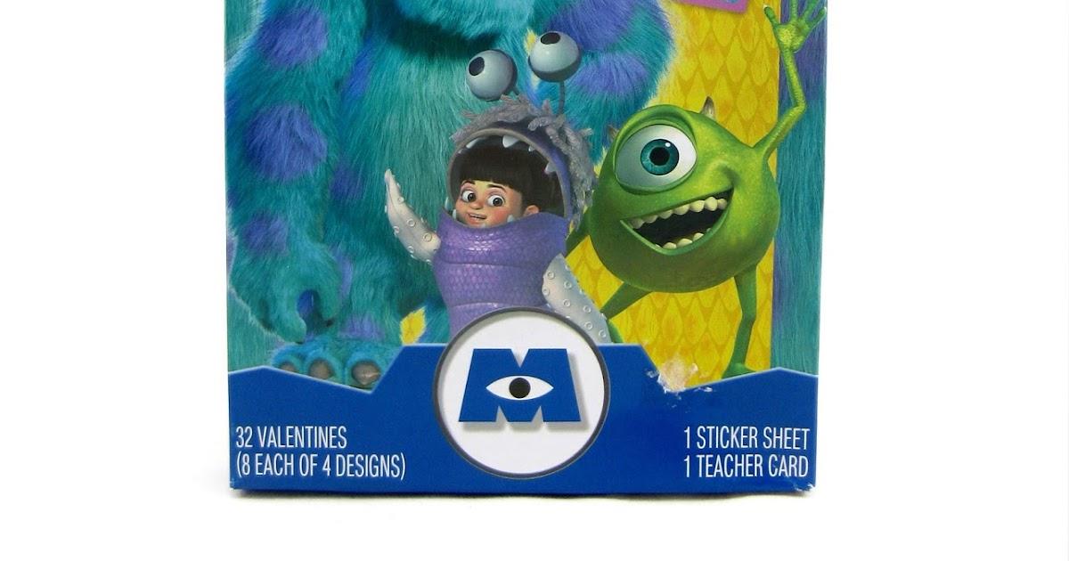 Dan The Pixar Fan Monsters Inc Hallmark Valentines