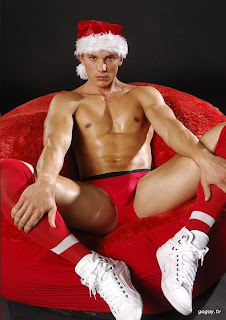 this is the kind of santa who can visit me in a month