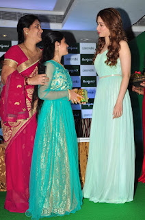 Tamanna Bhatia Launches Banjara Samvridhi Hair Oil Photos