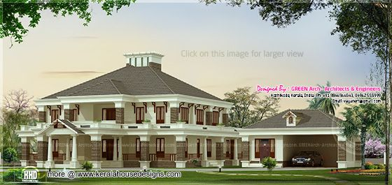 4850 sq-ft villa design